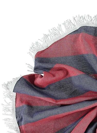 Sade'ce Stripes Roundie Kırmızı